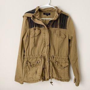 ANORAK Aztec Southwestern Utility Military Jacket